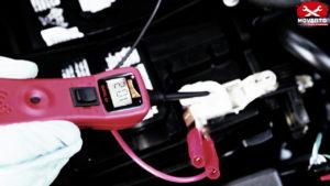 batteria controllo corso meccanico