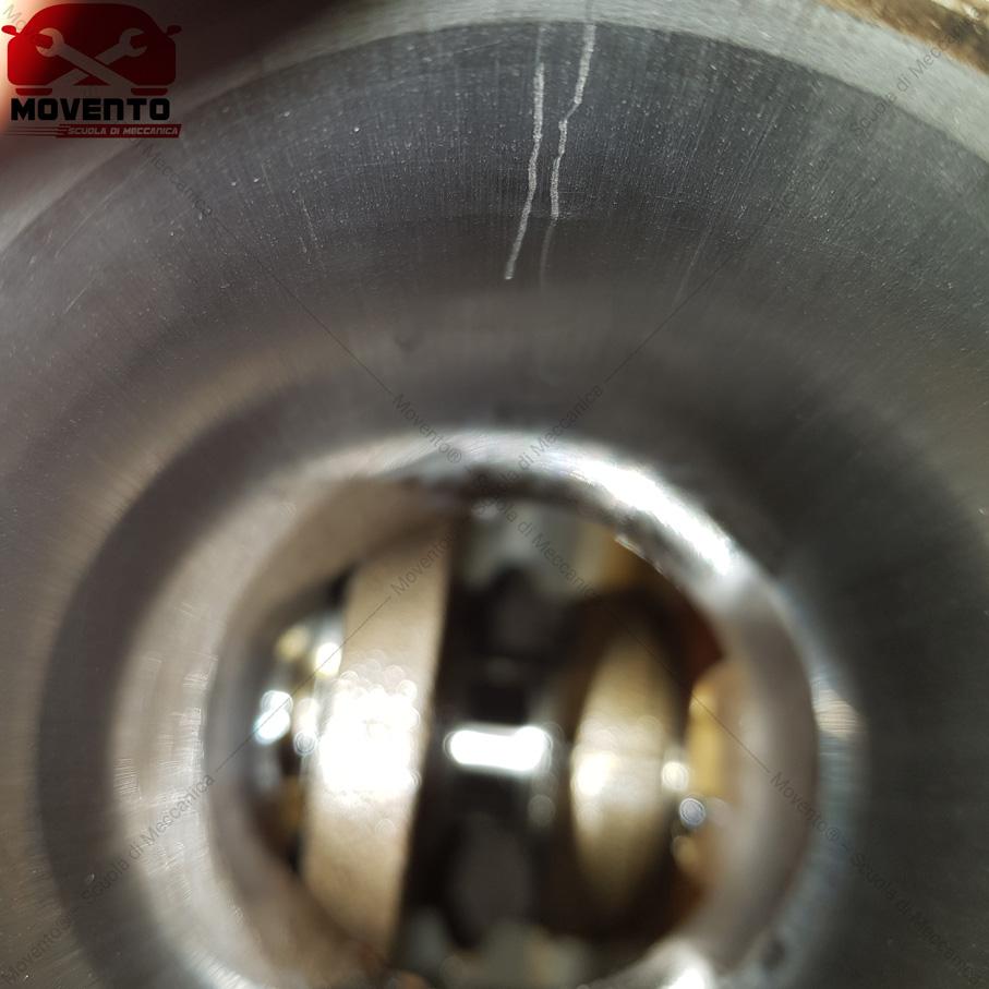 rigatura cilindro movento testata rettifica