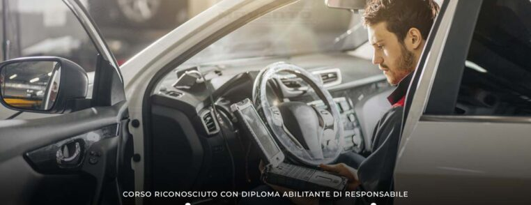 corso regionale qualifica meccatronico officina carrozziere gommista diploma Oristano Nuoro Olbia Sardegna