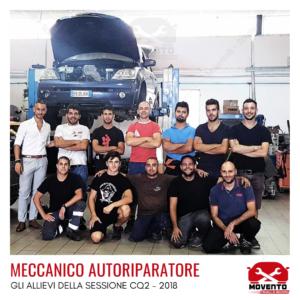 """Percorso formativo """"Meccanico autoriparatore"""" CQ2 - 2018"""