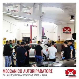 """Percorso formativo """"Meccanico autoriparatore"""" OQ2 - 2018"""