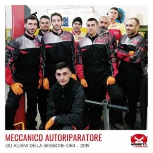"""Percorso formativo """"Meccanico autoriparatore"""" OR4 - 2019"""