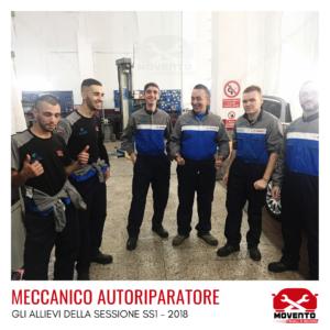 """Percorso formativo """"Meccanico autoriparatore"""" SS1 - 2018"""